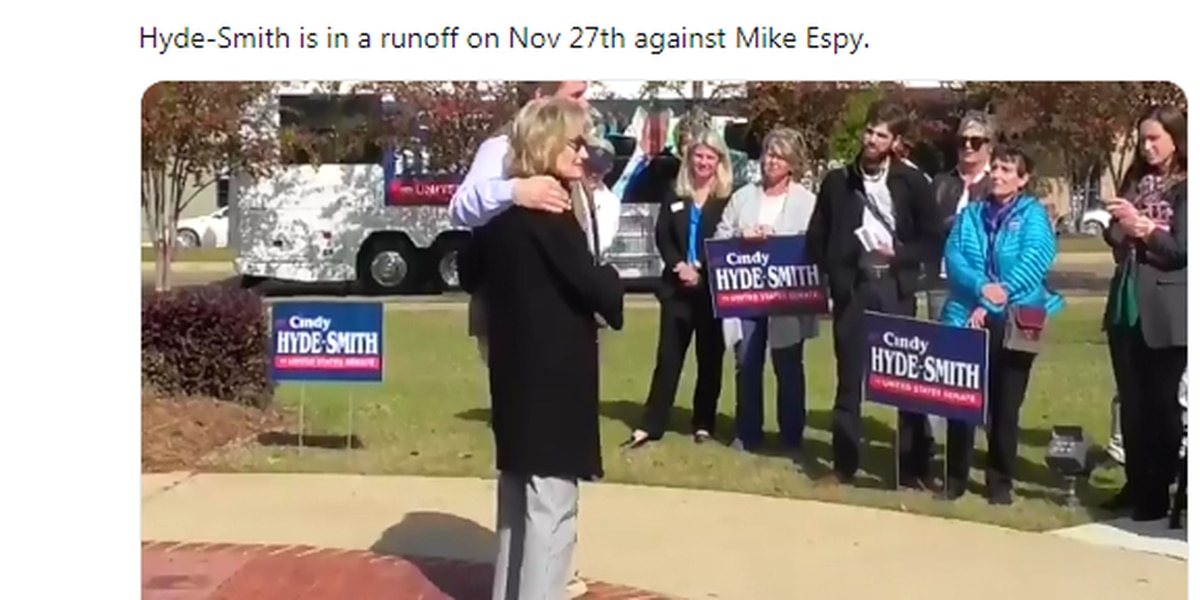 GOP Sen. Cindy Hyde-Smith jokes about attending 'a public hanging'