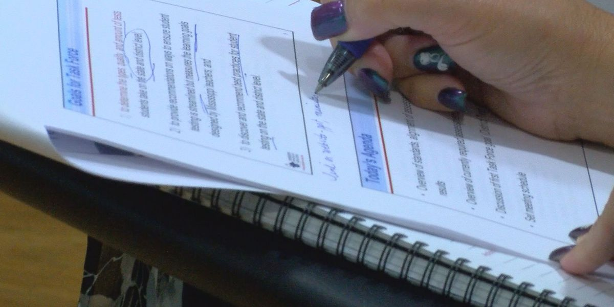 Mississippi Student Testing Task Force aims to streamline school testing