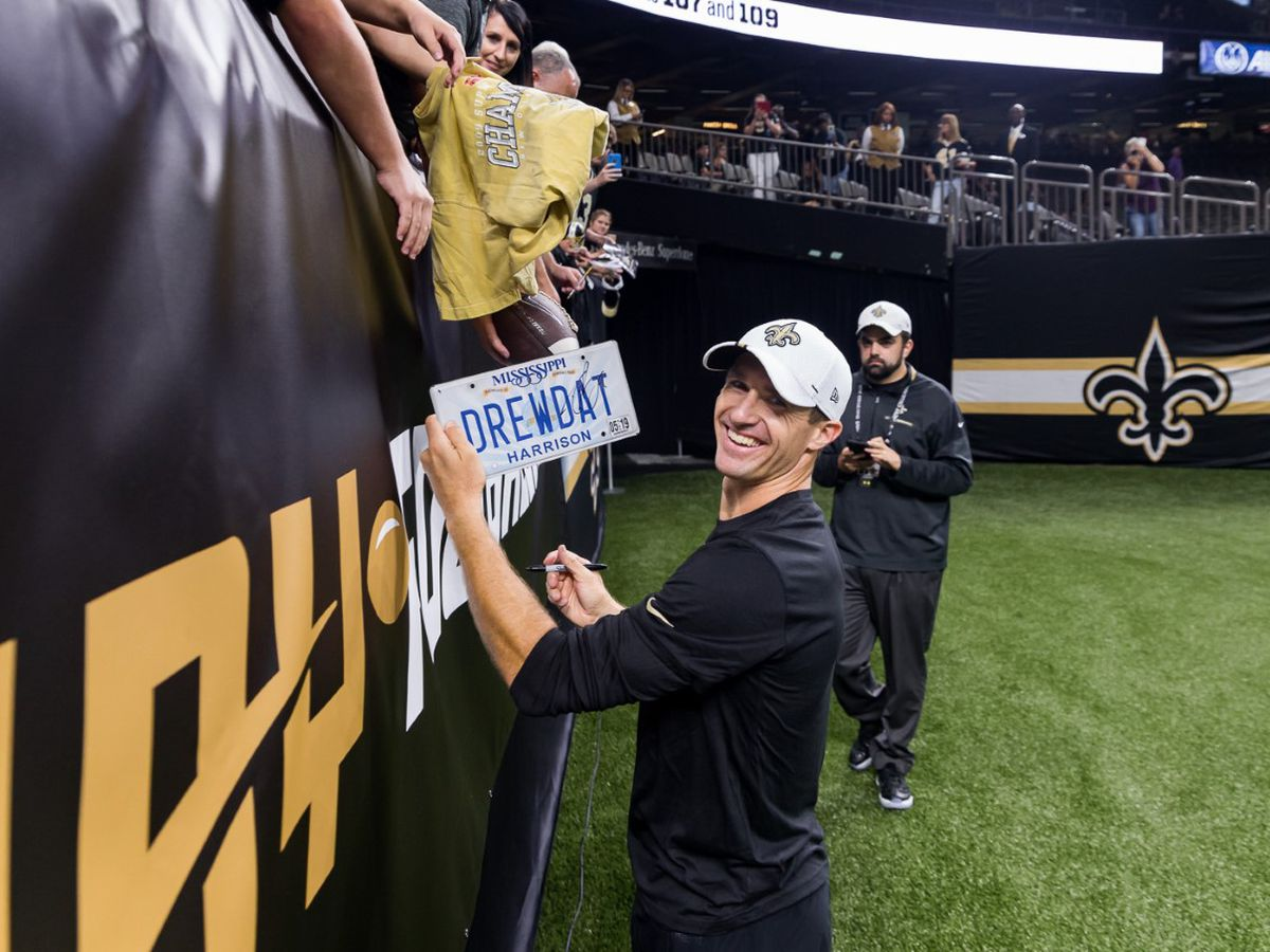 Drew Brees sits in preseason opener, Saints lose to the Vikings
