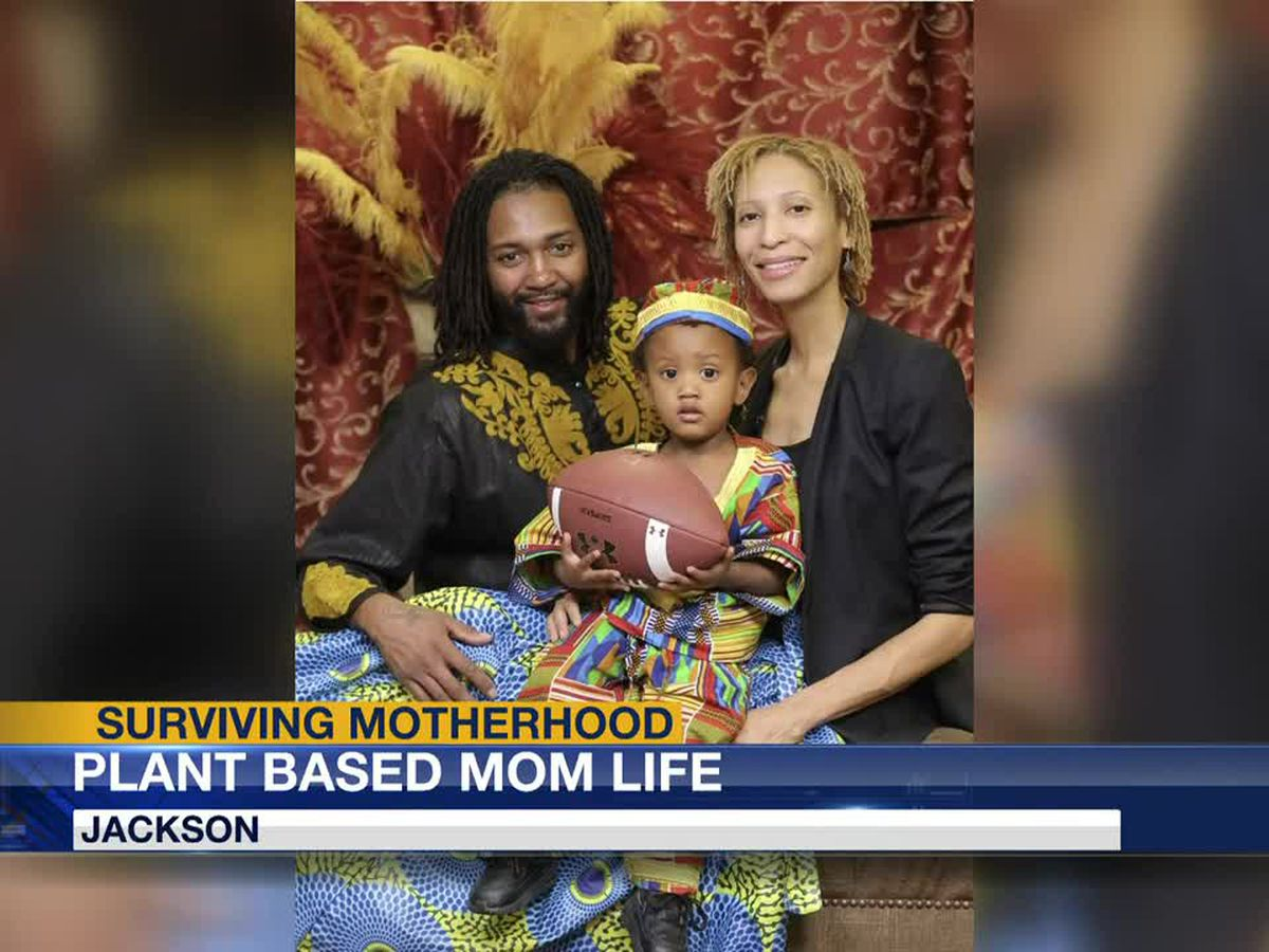 Surviving Motherhood: Jackson mom commits to plant-based lifestyle while running business