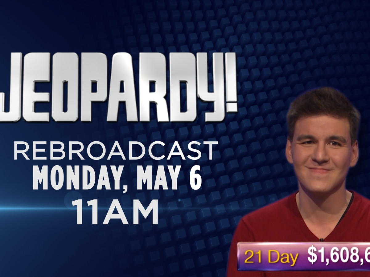 Jeopardy! episode to re-air Monday, May 6