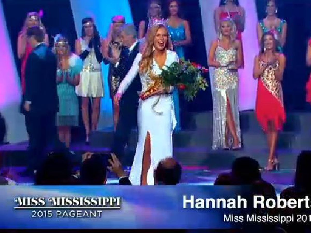 Hannah Roberts is Miss Mississippi 2015