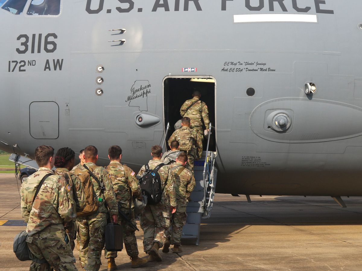 Miss. National Guard heads to Capitol Hill for presidential inaugaration