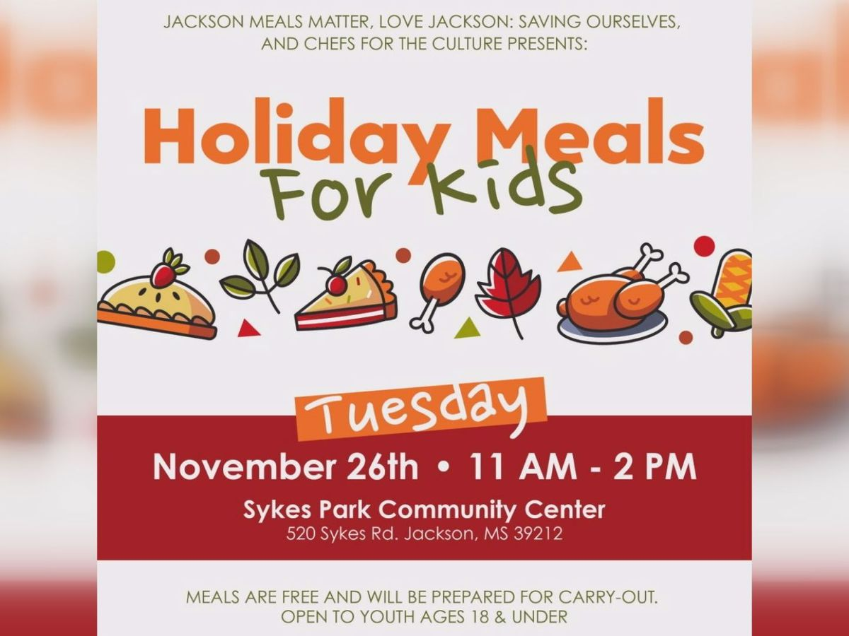 Local organizations team up to provide free meals to Jackson youth during holiday break