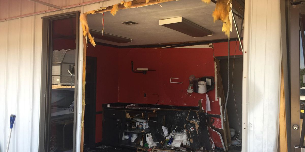 JPD investigating after man drives into building, carjacks woman in south Jackson