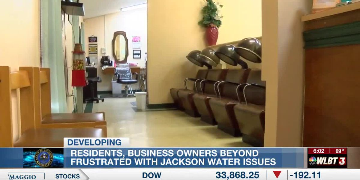 Jackson residents, business owners beyond frustrated with water system issues