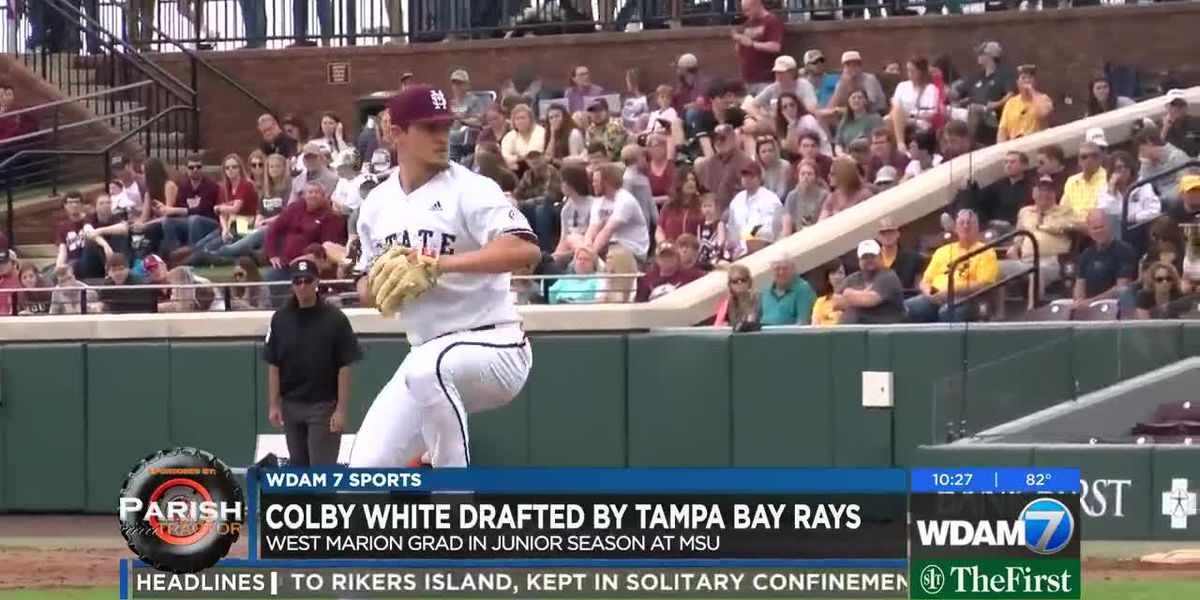 West Marion's Colby White drafted by Tampa Bay Rays
