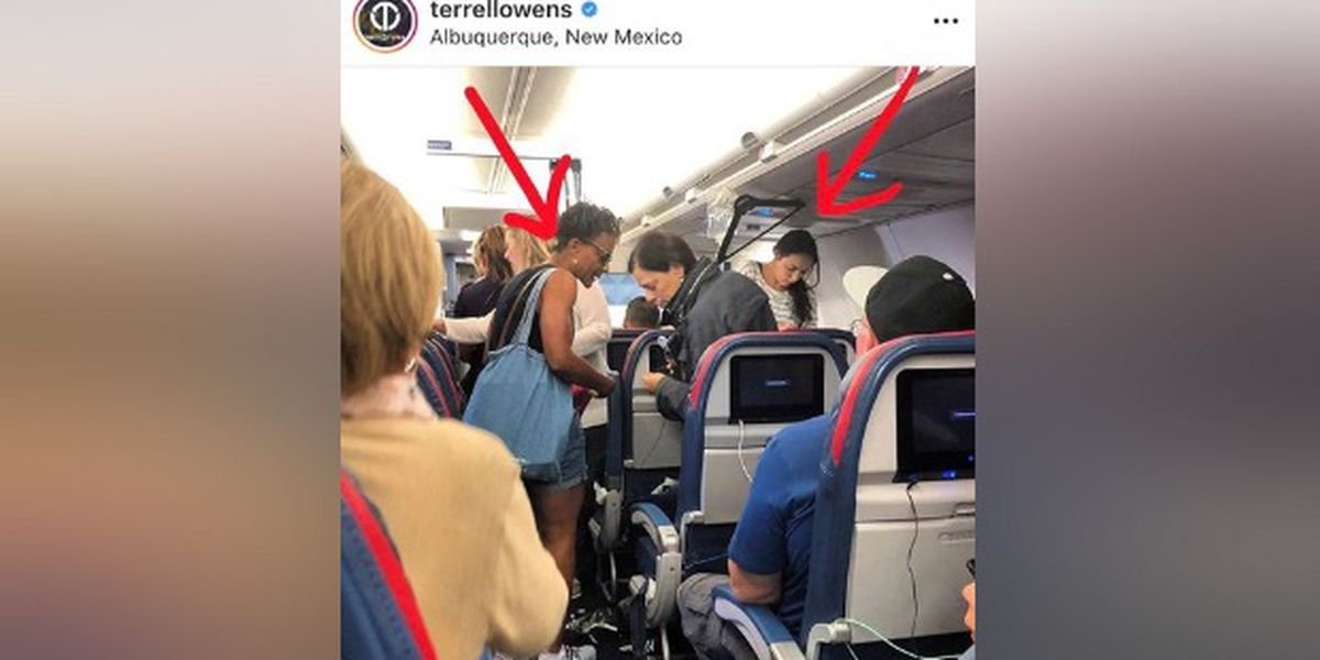 Florida nurse helps save patient's life on airplane, Terrell Owens snaps viral photo