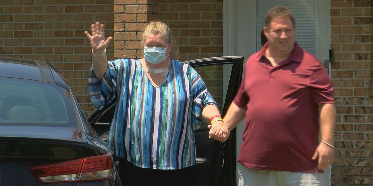 Coast mother returns home after battling COVID-19 for 60 days