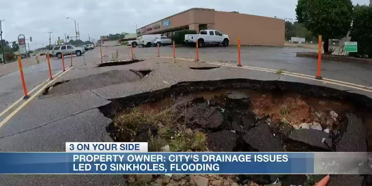 City's drainage issues led to sinkholes, flooding