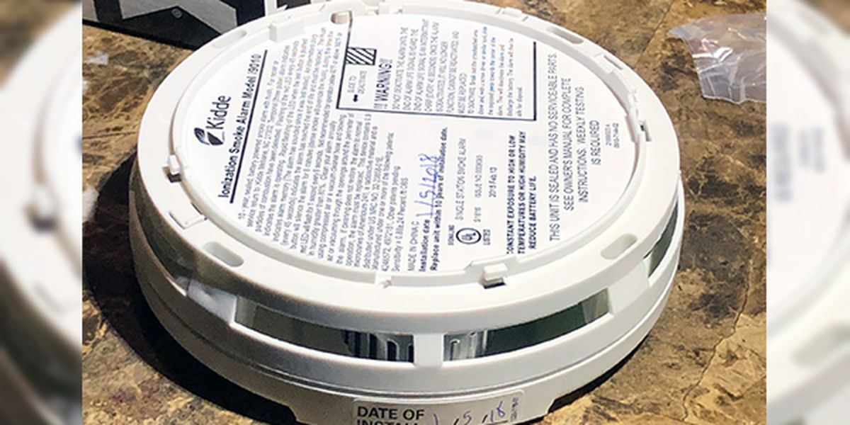 Clinton fire officials remind homeowners to change smoke detector batteries