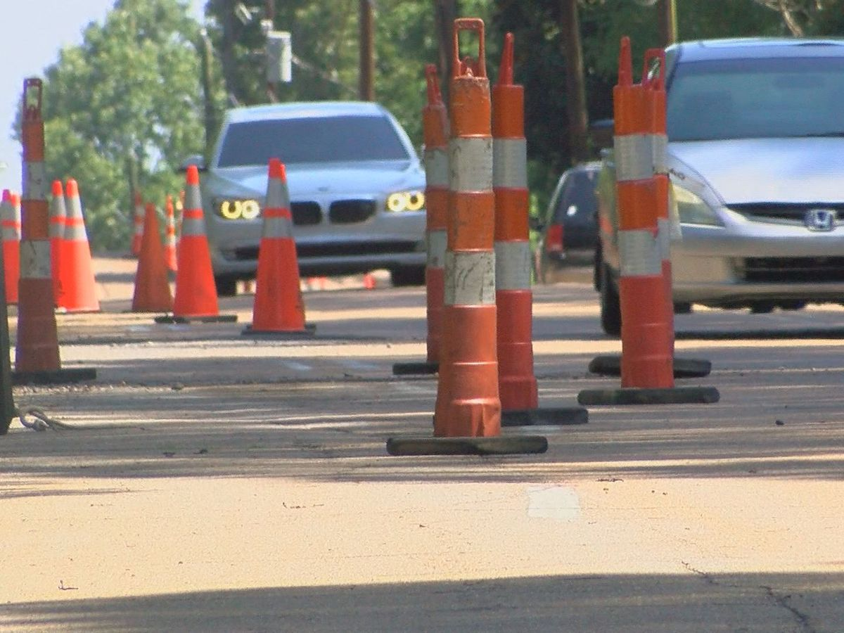 Repaving project underway on Belvedere Drive in Jackson