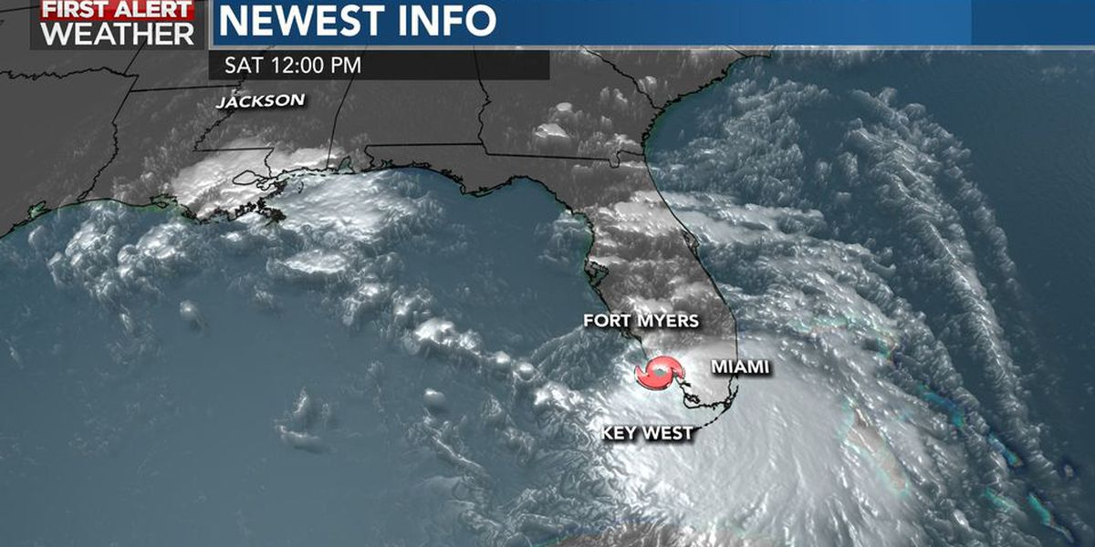 Tropical Depression 19 upgraded to Tropical Storm Sally