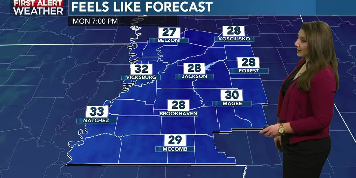 Rachel's Monday Afternoon Forecast