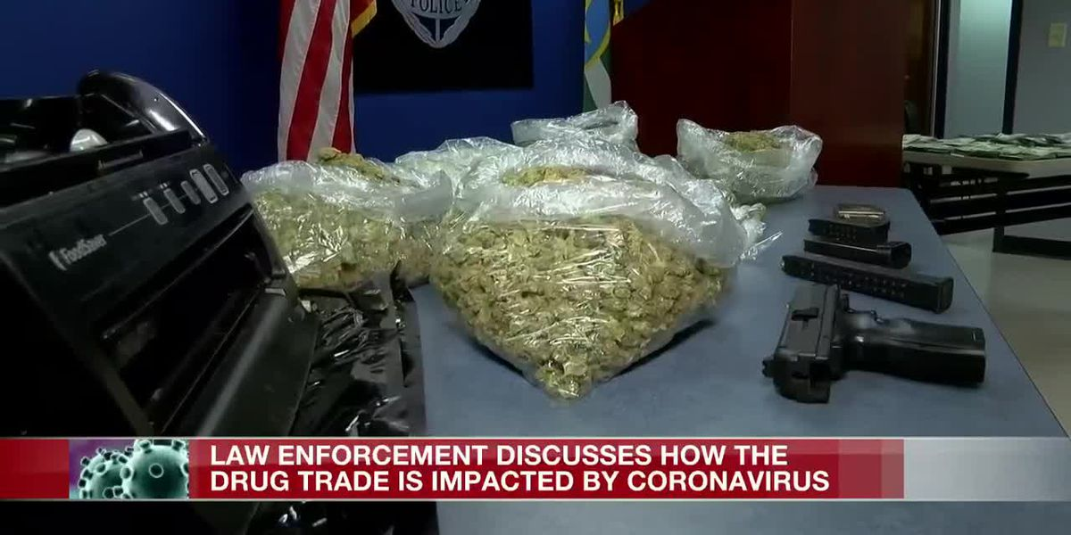 Drug trade affected by coronavirus