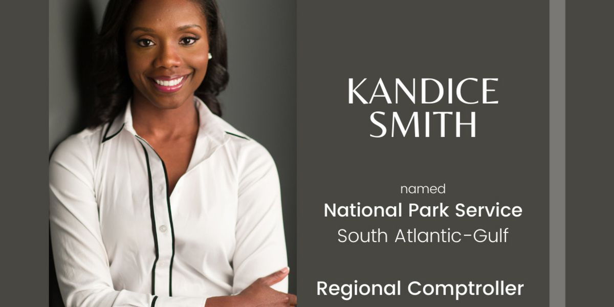 National Park Service selects Kandice Smith as regional comptroller