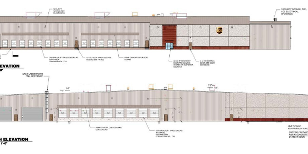 Ridgeland board to consider UPS architectural plans at Tuesday meeting