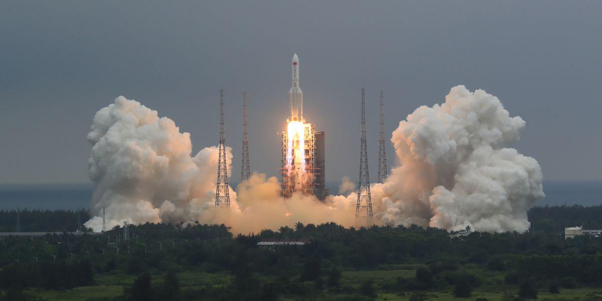 China says most rocket debris burned up during reentry over Maldives
