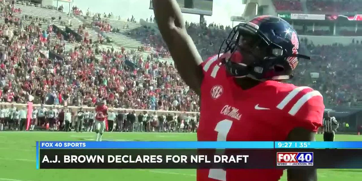 A.J. Brown declares for the NFL Draft