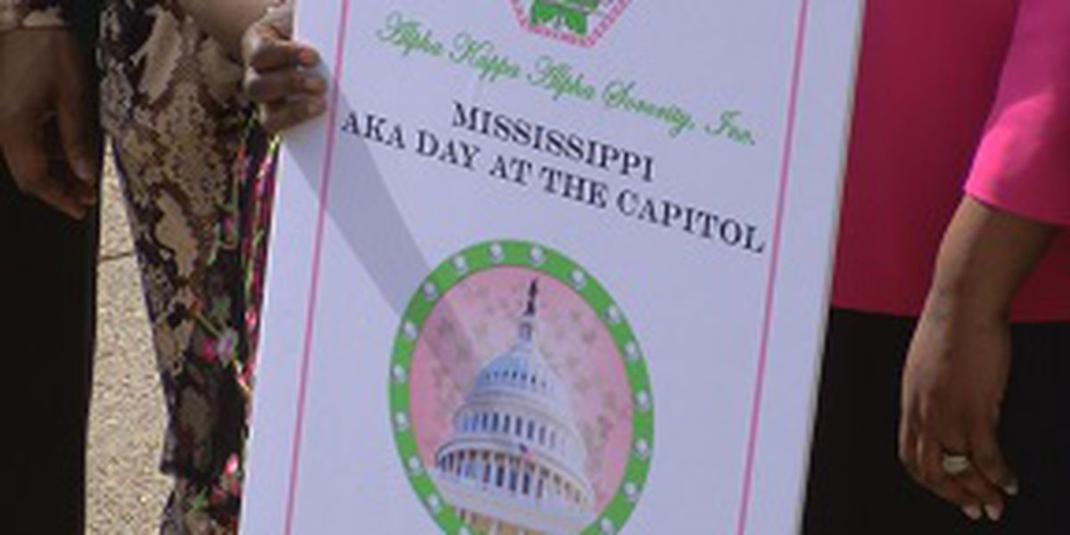 Alpha Kappa Alpha Sorority holds annual Advocacy Day at the State Capitol