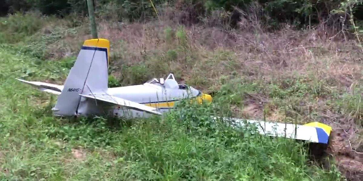 Pilot and passenger injured in plane crash heading to Meridian; Source: Clarke Co. Hot Topics