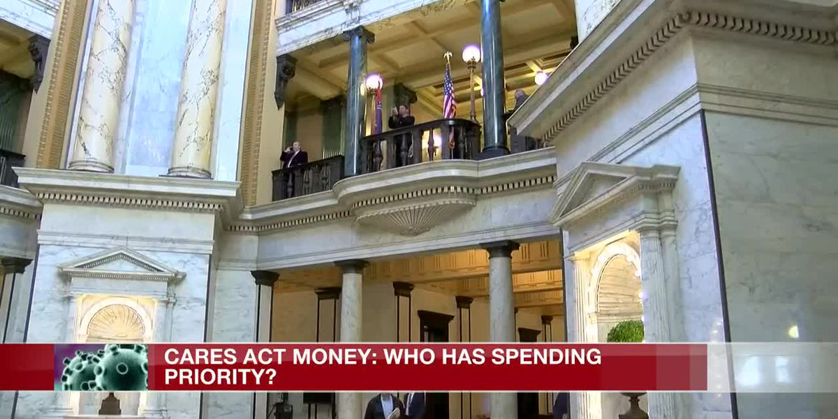 Federal CARES Act Money: Who has the spending authority?