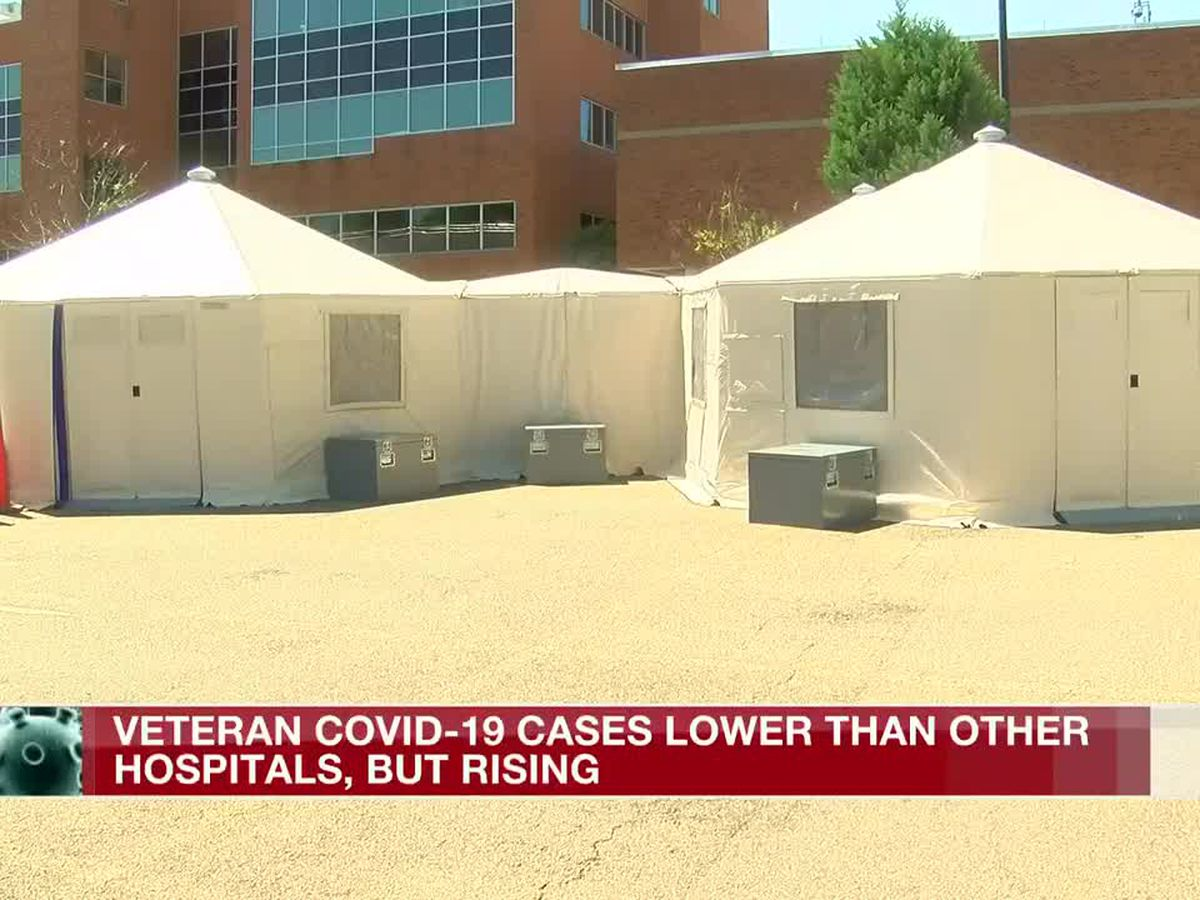 V.A. COVID-19 cases remain low among veterans but numbers are rising