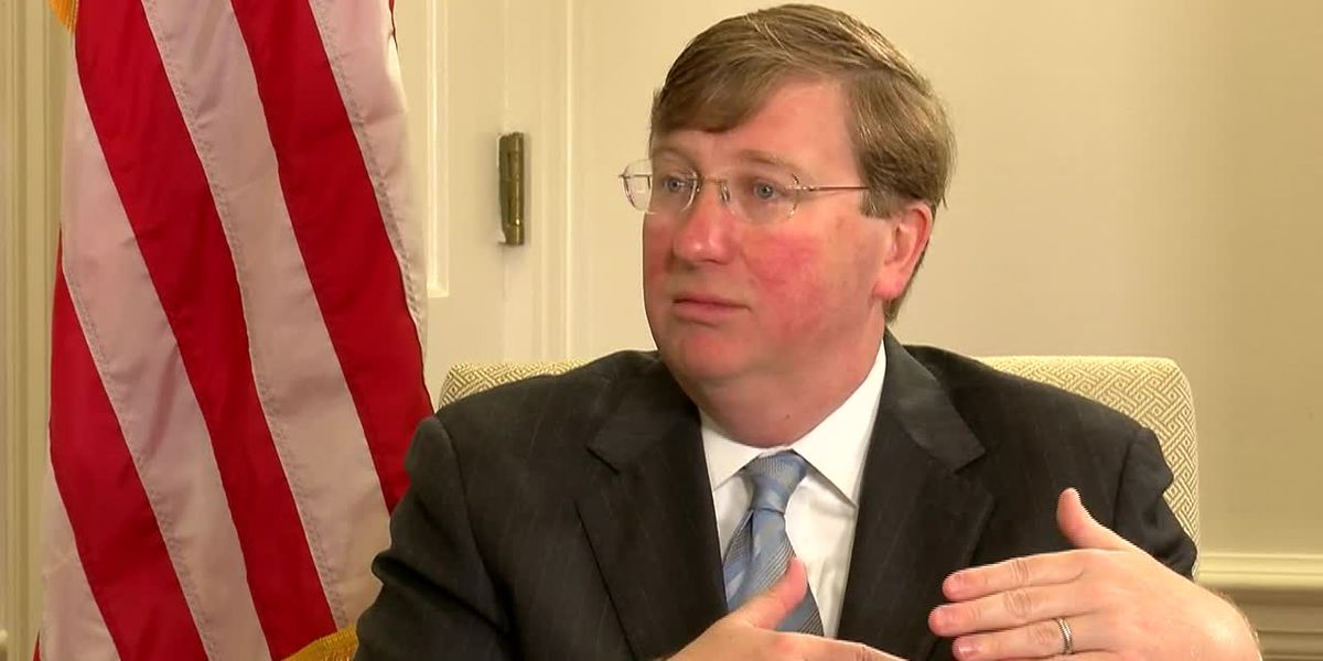 One-on-one interview with Gov. Tate Reeves