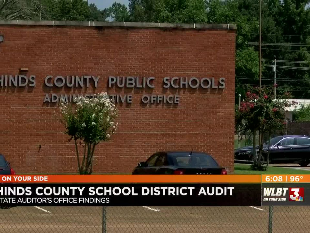 """Routine audit uncovers """"alarming business practices"""" at Hinds Co. school district"""