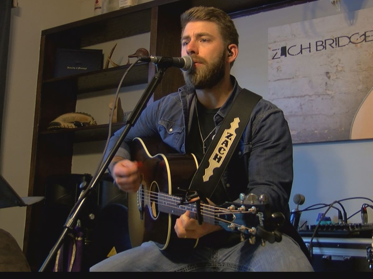 "Life after ""The Voice"" for Pearl native Zach Bridges"