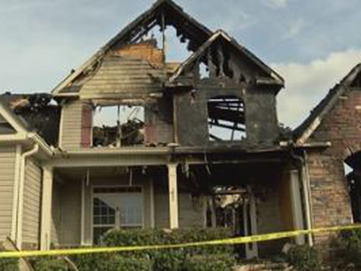 2 Bibles and wooden cross survive a devastating house fire in Ft. Mitchell
