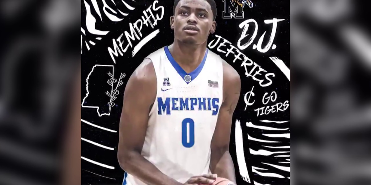 Olive Branch forward DJ Jeffries commits to Memphis Tigers
