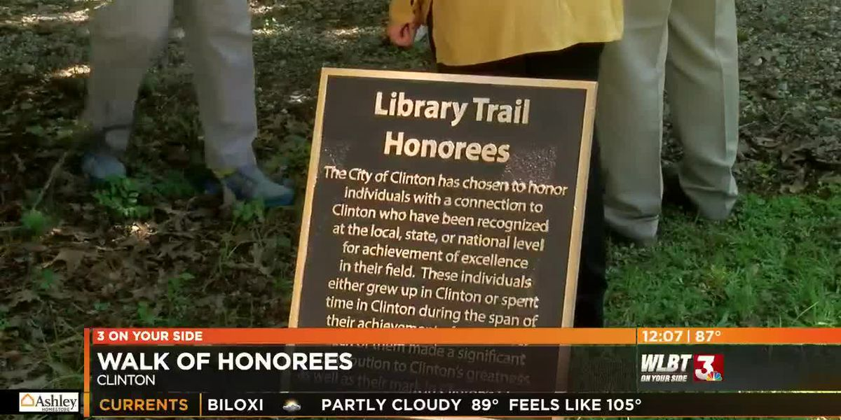 Clinton's Walk of Honorees highlights local talent