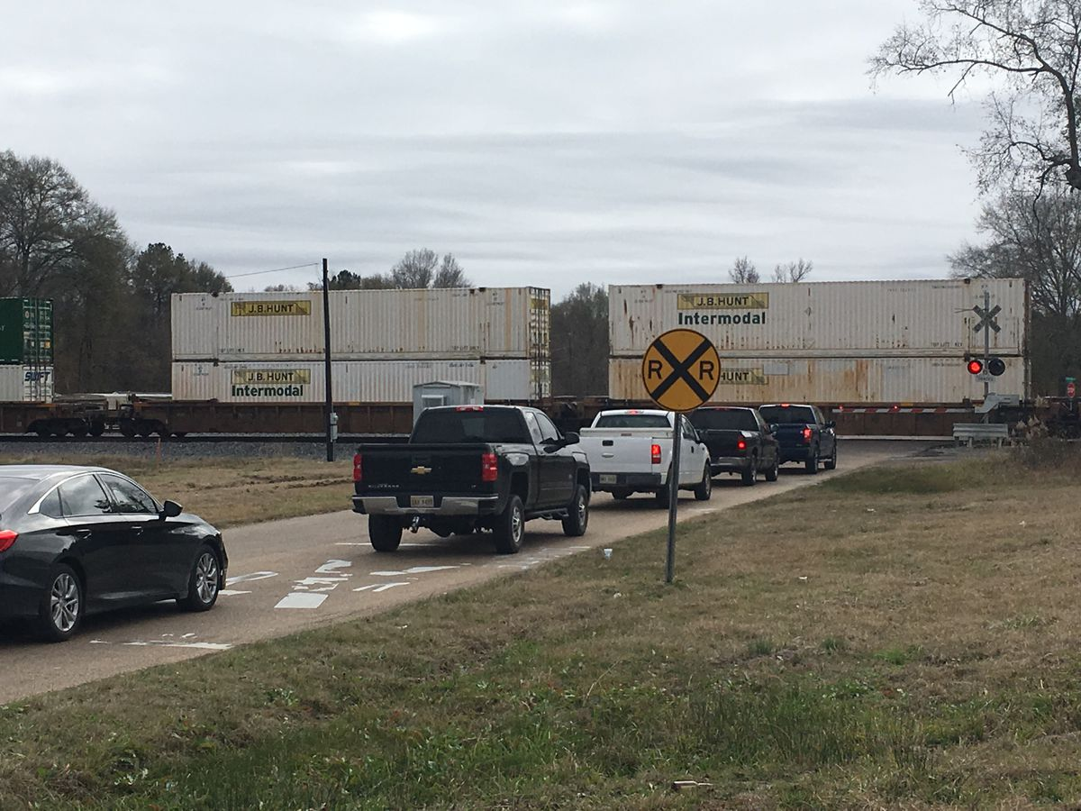 Proposed bridge to bypass train on S. Pearson Rd. delayed again in Pearl
