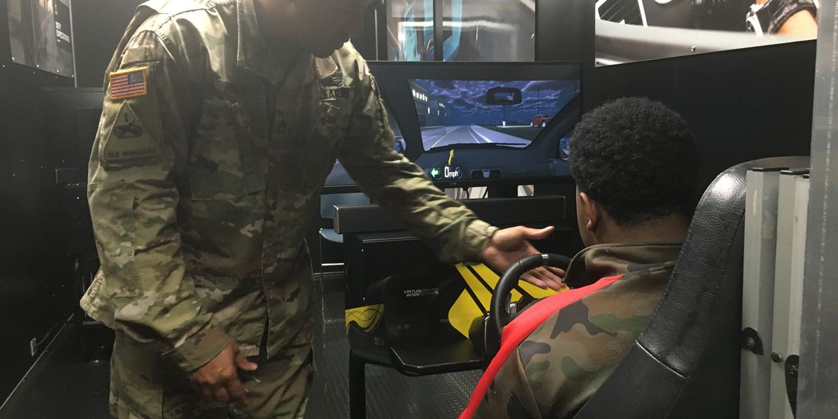 Provine High School students learn about distracted driving hands-on
