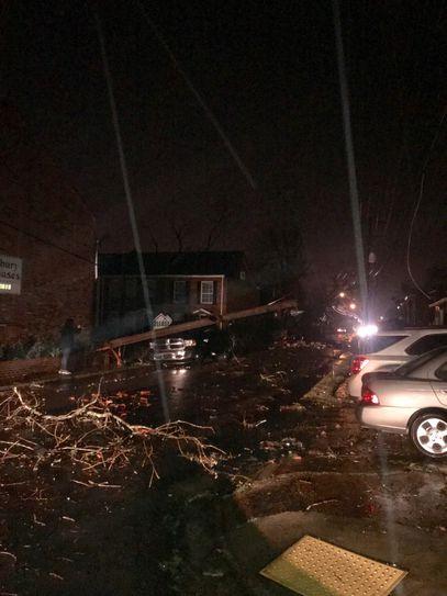 1 killed, at least 11 injured after damaging tornado slams