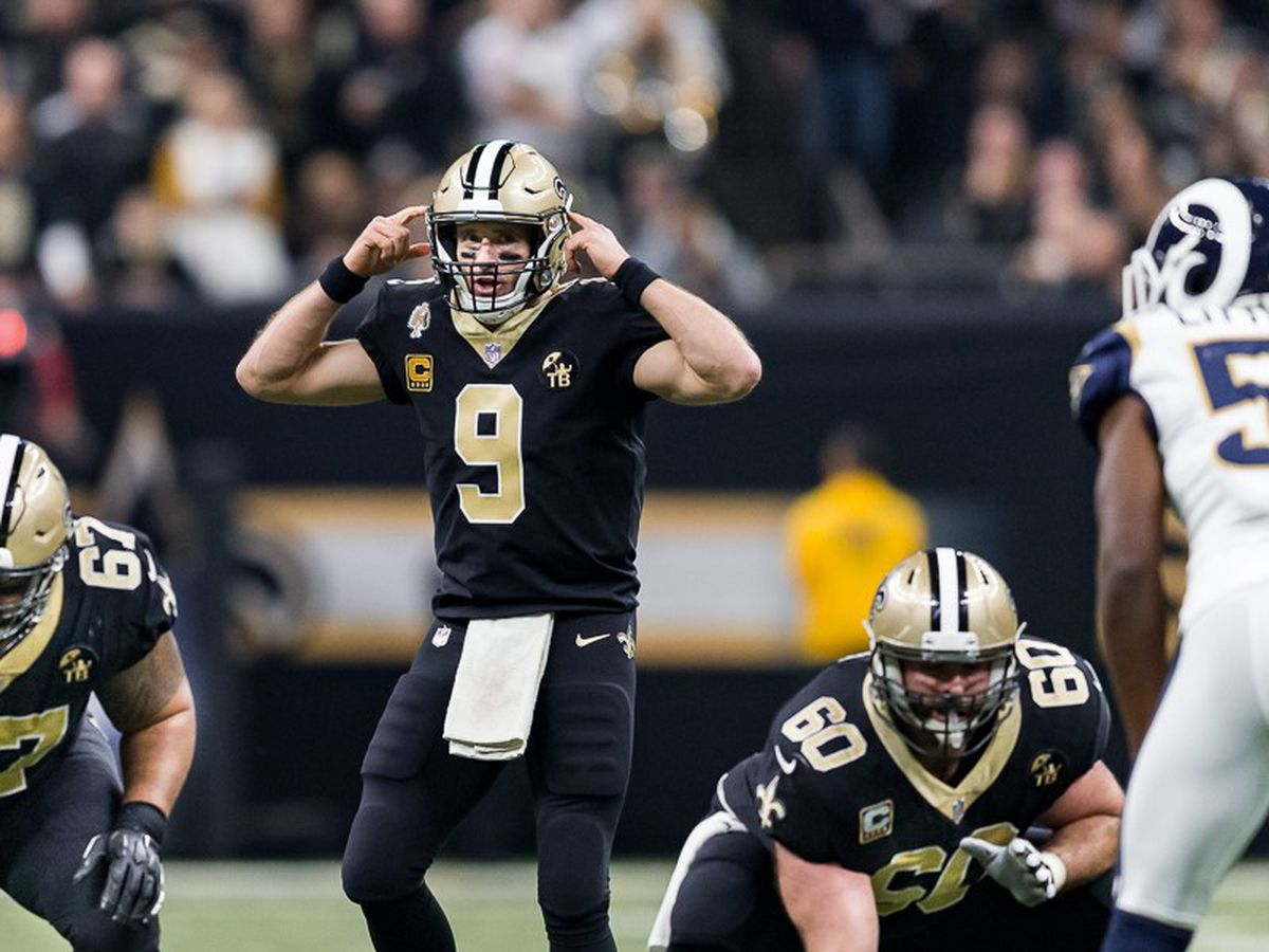 Four primetime games, a week 2 matchup with the Rams, highlight the Saints 2019 schedule