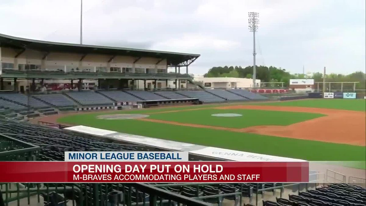 Opening Day put on hold for Mississippi Braves