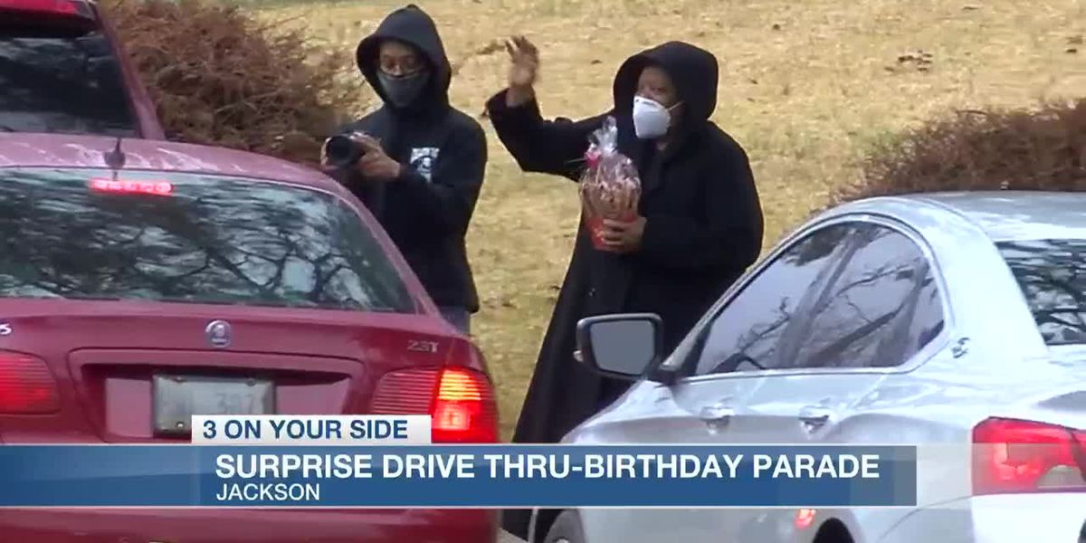 Family Throws Surprise Drive-Thru Birthday Parade For Their Mom
