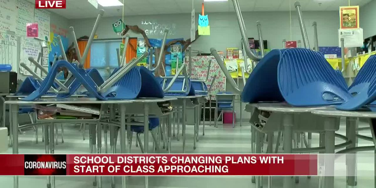 One Miss. school district goes back to school while others work on reopening plans