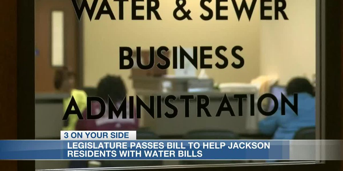 Bill passed by House and Senate to help City of Jackson's water payment problem