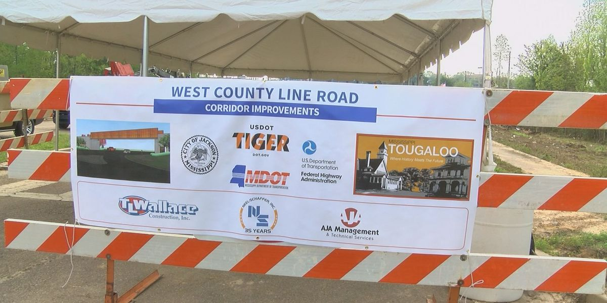 Groundbreaking held for West County Line Road project