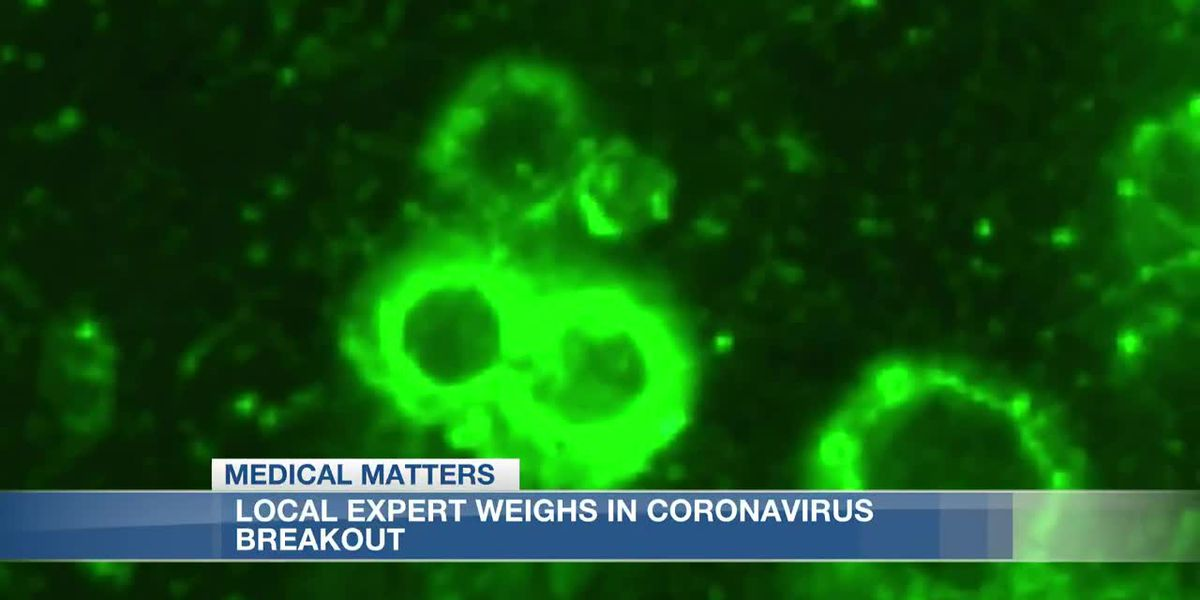 Local expert discusses coronavirus