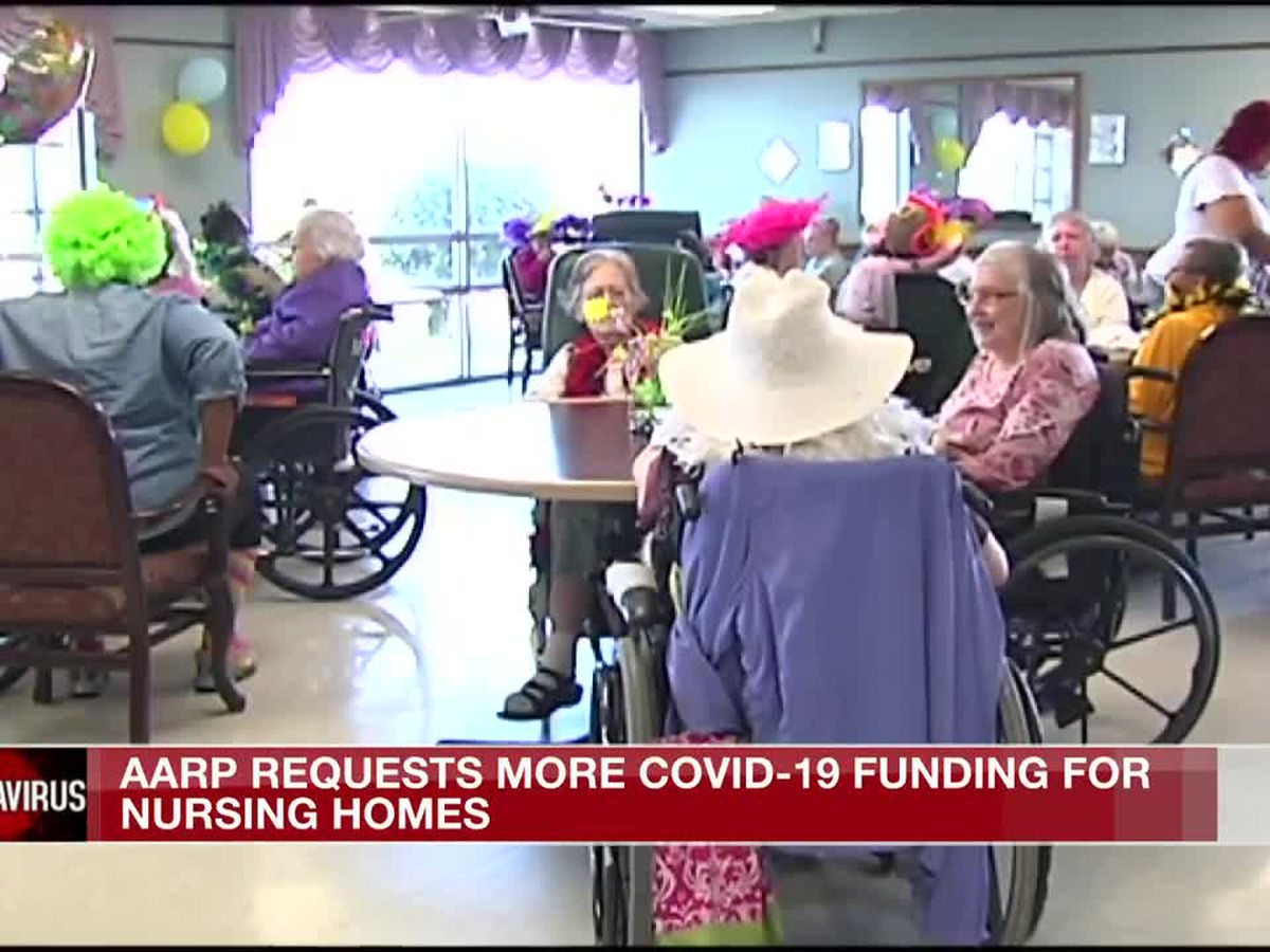 AARP urges congress to provide more COVID-19 nursing home funding