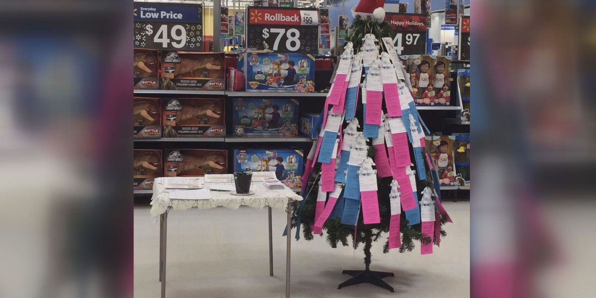 Ministry asking for sponsors as 100 Mississippi children on 'Lamb Tree' face Christmas without gifts