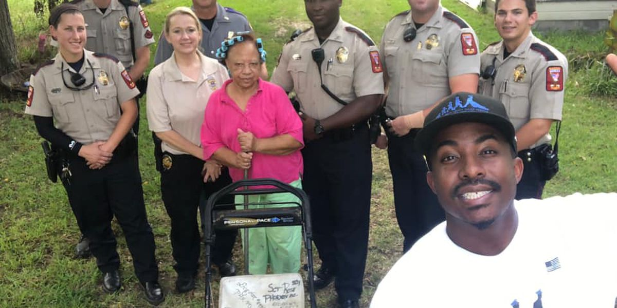 "FEEL GOOD FRIDAY: Man traveling on ""Mowing with Cops"" tour stops in Madison"