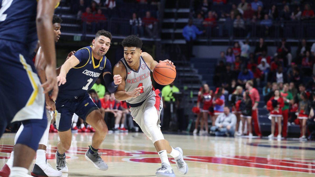 Ole Miss uses big run to get past Chattanooga 90-70