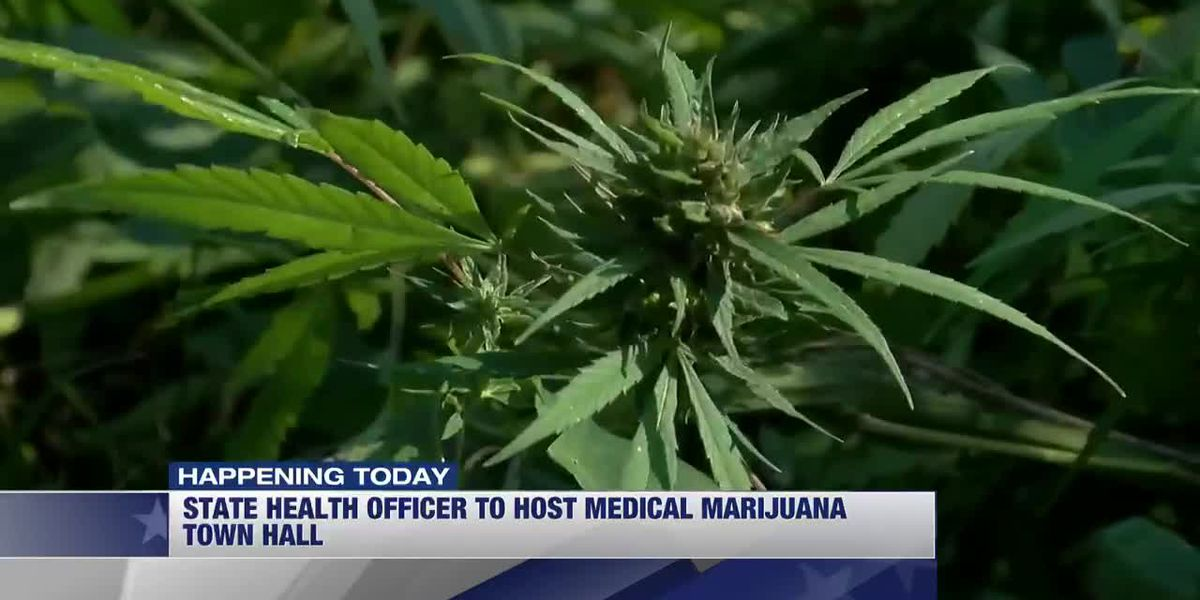 State health officer to host medical marijuana town hall