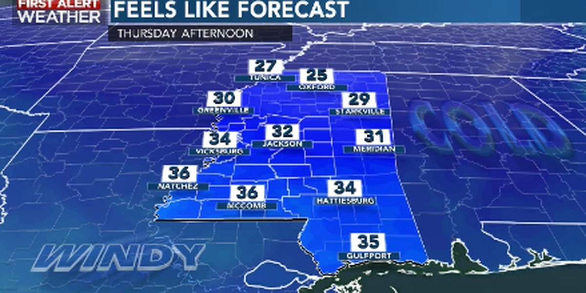 First Alert Forecast: colder, windier into Christmas holiday