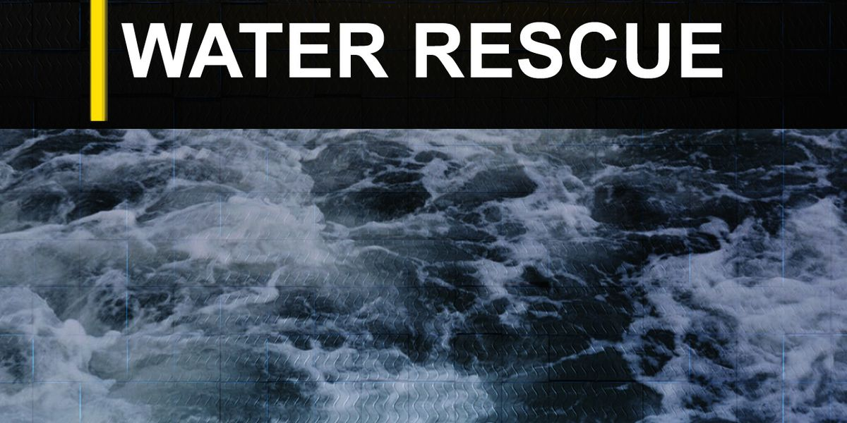 Person rescued from Pearl River after boat sank in flood water